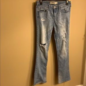 Abercrombie & Fitch Skinny Boot Jeans